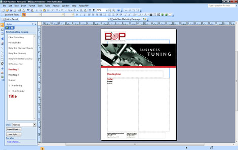 sample publisher file